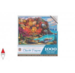 , , , PUZZLE PAESAGGI MASTERPIECES A BEAUTIFUL DAY AT CINQUE TERRE 1000 PZ