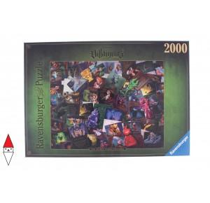 , , , PUZZLE DISNEY RAVENSBURGER CARTONI ANIMATI VILLAINOUS 2000 PZ