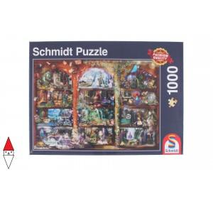, , , PUZZLE TEMATICO SCHMIDT FANTASY FAIRYTALE MAGIC 1000 PZ