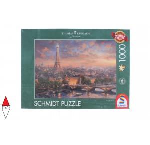 , , , PUZZLE PAESAGGI SCHMIDT CITTA KINKADE PARIS CITY OF LOVE 1000 PZ