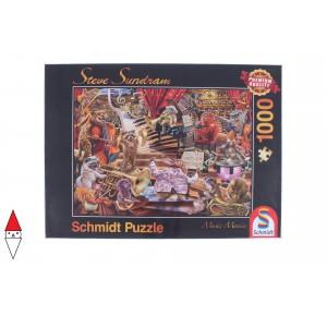 , , , PUZZLE TEMATICO SCHMIDT MUSICA SUNDRAM MUSIC MANIA 1000 PZ