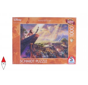 , , , PUZZLE DISNEY SCHMIDT CARTONI ANIMATI KINKADE DISNEY THE LION KING 1000 PZ