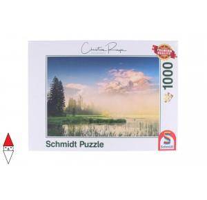 , , , PUZZLE PAESAGGI SCHMIDT LAGHI RINGER LAKE TAUBENSEE 1000 PZ