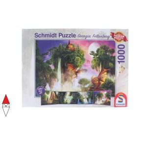 , , , PUZZLE PAESAGGI SCHMIDT FELLENBERG CUSTODIANS OF THE FOREST 1000 PZ