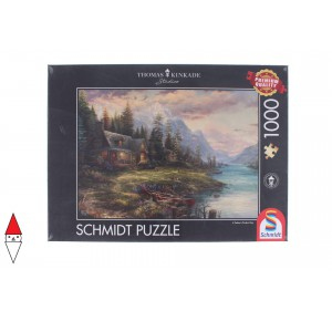 , , , PUZZLE PAESAGGI SCHMIDT KINKADE AN OUTING ON FATHER S DAY 1000 PZ