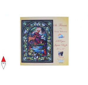, , , PUZZLE ARTE SUNSOUT RANDY WOLLENMANN ST FRANCIS SAN FRANCESCO 1000 PZ