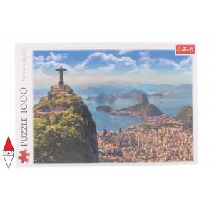 , , , PUZZLE PAESAGGI TREFL CITTA RIO DE JANEIRO 1000 PZ