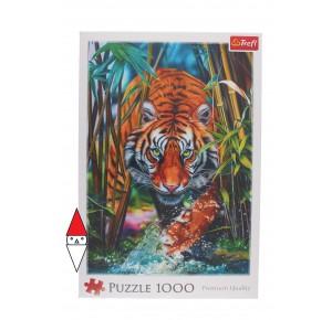 , , , PUZZLE ANIMALI TREFL TIGRI GRASPING TIGER 1000 PZ