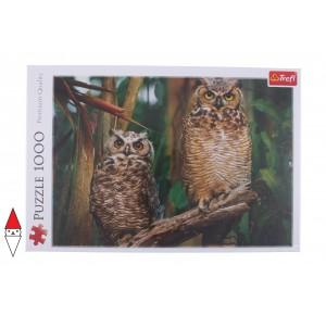 , , , PUZZLE ANIMALI TREFL GUFI OWLS 1000 PZ