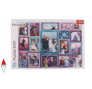 , , , PUZZLE DISNEY TREFL CARTONI ANIMATI MAGIC GALLERY / FROZEN 500 PZ