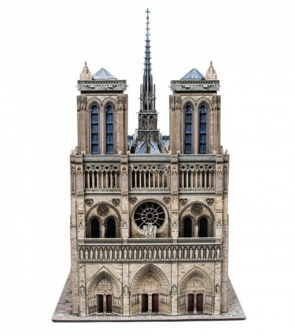 UMBUM, 387, 4627081554060, PUZZLE 3D UMBUM ARCHITECTURE NOTRE DAME DE PARIS PARIGI 387