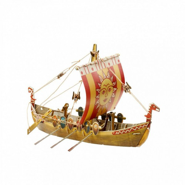 UMBUM, 372, 4627081553780, PUZZLE 3D UMBUM NAVI ANTICHE OLD RUSSIAN SHIP ANTICA NAVE RUSSA 372