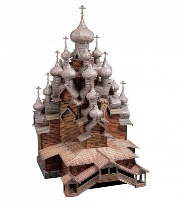 UMBUM, 151, 4627081550055, PUZZLE 3D UMBUM ARCHITECTURE CHIESA DELLA TRASFIGURAZIONE KIZHI ISLAND 151