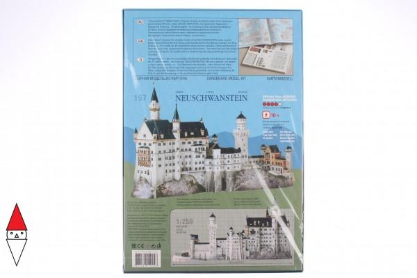 UMBUM, 157, 4627081550048, PUZZLE 3D UMBUM ARCHITECTURE CASTELLO DI NEUSCHWANSTEIN 157