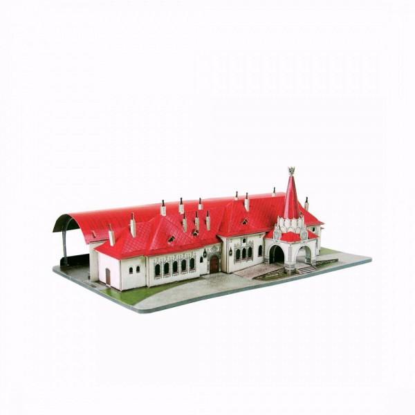 UMBUM, 332, 4627081553452, PUZZLE 3D UMBUM ARCHITECTURE STAZIONE IMPERIALE SAN PIETROBURGO 332