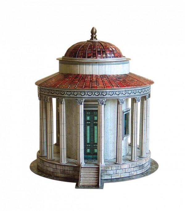 UMBUM, 339, 4627081553469, PUZZLE 3D UMBUM ARCHITECTURE TEMPIO DI VESTA ROMA 339