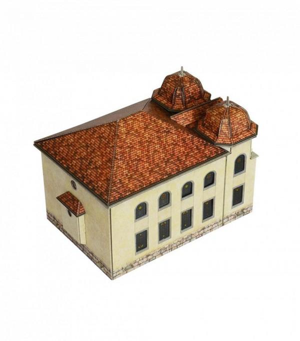 UMBUM, 334, 4627081553391, PUZZLE 3D UMBUM ARCHITECTURE SINAGOGA DI DELEMONTE 334