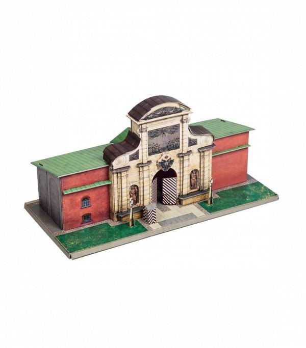 UMBUM, 363, 4627081553735, PUZZLE 3D UMBUM ARCHITECTURE  PORTA DI PIETRO SAN PIETROBURGO 363