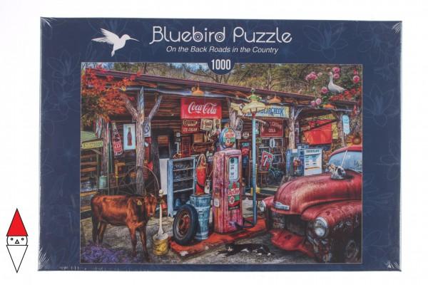 BLUEBIRD, Bluebird-Puzzle-70209, 3663384702099, PUZZLE MEZZI DI TRASPORTO BLUEBIRD AUTOMOBILI 1000 PZ