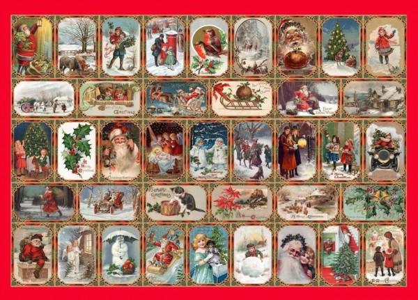 THE HOUSE OF PUZZLES, The-House-of-Puzzles-2919, 5060002002919, PUZZLE TEMATICO THE HOUSE OF PUZZLES NATALE SEASONS GREETINGS 1000 PZ
