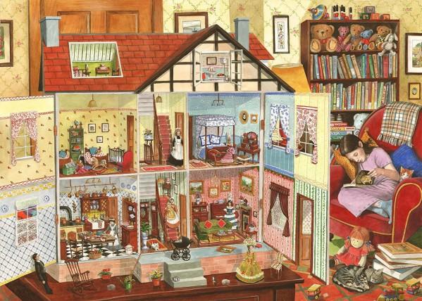 THE HOUSE OF PUZZLES, The-House-of-Puzzles-3640, 5060002003640, PUZZLE TEMATICO THE HOUSE OF PUZZLES INTERNI IDEAL HOME 1000 PZ