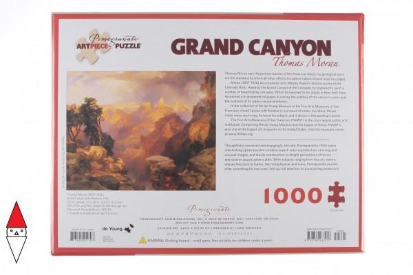 POMEGRANATE, Pomegranate-AA312, 9780764933257, PUZZLE ARTE POMEGRANATE PITTURA 1900 THOMAS MORAN GRAND CANYON 1000 PZ