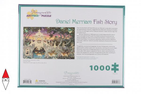 POMEGRANATE, Pomegranate-AA990, 9780764979378, PUZZLE ARTE POMEGRANATE ARTE CONTEMPORANEA DANIEL MERRIAM FISH STORY 1000 PZ