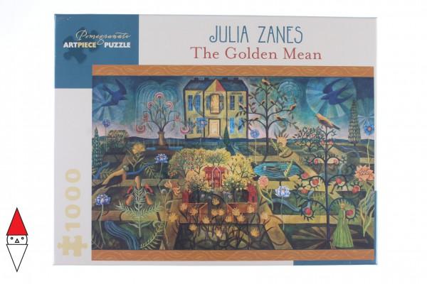 POMEGRANATE, Pomegranate-AA929, 9780764973932, PUZZLE ARTE POMEGRANATE ARTE CONTEMPORANEA JULIA ZANES THE GOLDEN MEAN 1000 PZ