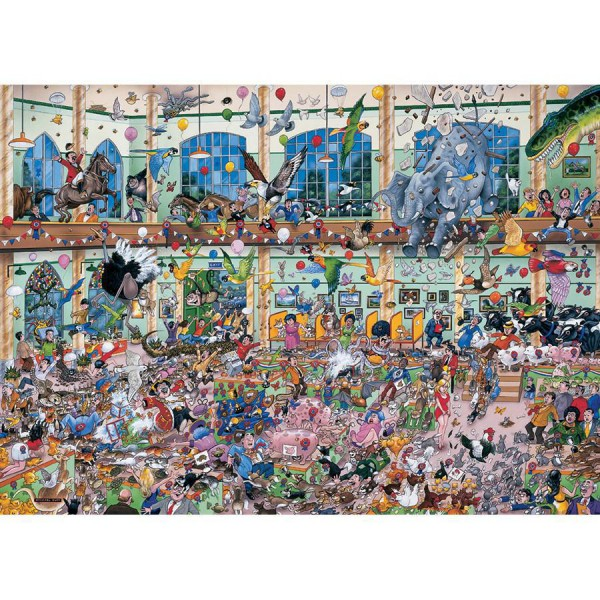 GIBSONS, G514, 5012269005141, PUZZLE ANIMALI GIBSONS  I LOVE PETS 1000 PZ