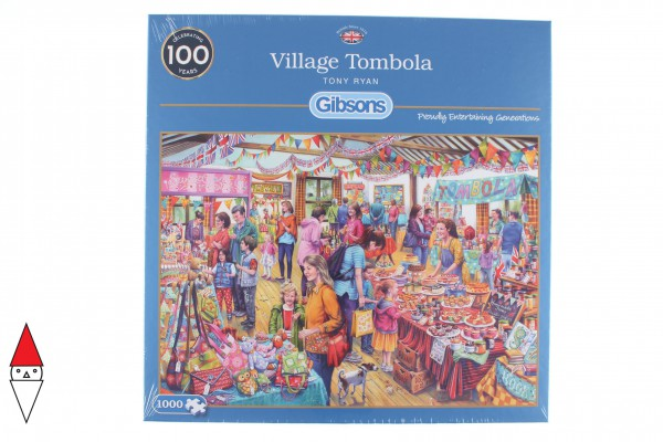 GIBSONS, G6254, 5012269062540, PUZZLE TEMATICO GIBSONS EVENTI VILLAGE TOMBOLA 1000 PZ