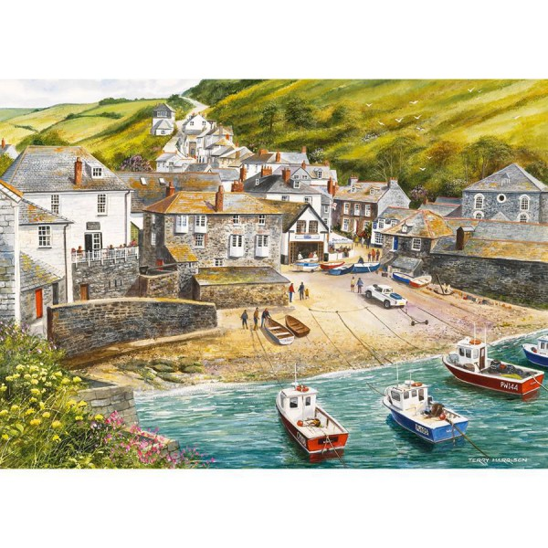 GIBSONS, G892, 5012269008920, PUZZLE PAESAGGI GIBSONS PORTI PORT ISAAC 500 PZ