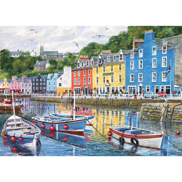 GIBSONS, G6058, 5012269060584, PUZZLE PAESAGGI GIBSONS PORTI TOBERMORY 1000 PZ