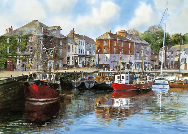 GIBSONS, G476, 5012269004762, PUZZLE TEMATICO GIBSONS PORTI PADSTOW HARBOUR 1000 PZ