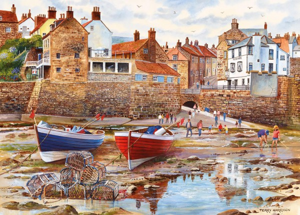 GIBSONS, G6189, 5012269061895, PUZZLE PAESAGGI GIBSONS PORTI ROBIN HOODS BAY 1000 PZ