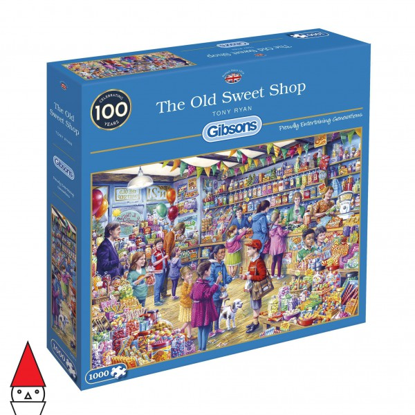 GIBSONS, G6274, 5012269062748, PUZZLE TEMATICO GIBSONS NEGOZI THE OLD SWEET SHOP 1000 PZ