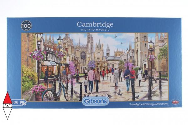 GIBSONS, G4047, 5012269040470, PUZZLE PAESAGGI GIBSONS CITTA CAMBRIDGE 636 PZ