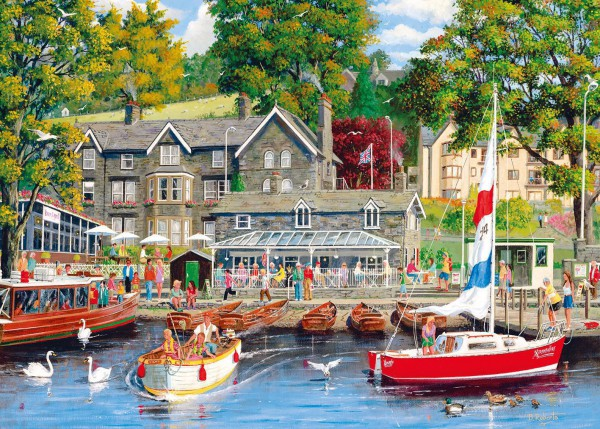 GIBSONS, G3415, 5012269034158, PUZZLE PAESAGGI GIBSONS PORTI SUMMER IN AMBLESIDE 500 PZ