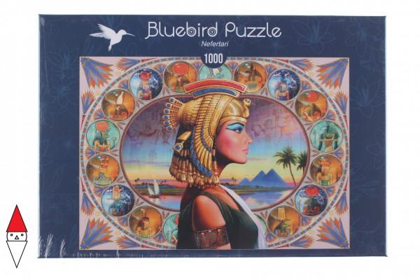 BLUEBIRD, BLUEBIRD-PUZZLE-70130, 3663384701306, PUZZLE TEMATICO BLUEBIRD ANTICO EGITTO NEFERTARI 1000 PZ