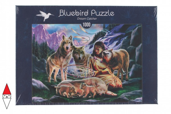 BLUEBIRD, BLUEBIRD-PUZZLE-70136, 3663384701368, PUZZLE GRAFICA BLUEBIRD FANTASY DREAM CATCHER 1000 PZ