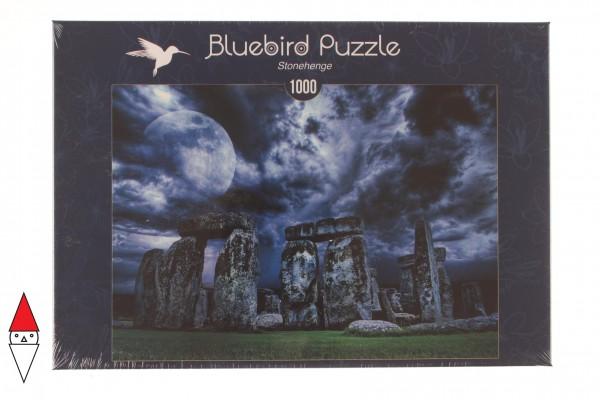 BLUEBIRD, BLUEBIRD-PUZZLE-70033, 3663384700330, PUZZLE PAESAGGI BLUEBIRD MONUMENTI STONEHENGE 1000 PZ
