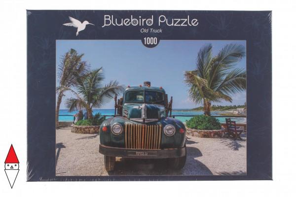 BLUEBIRD, BLUEBIRD-PUZZLE-70020, 3663384700200, PUZZLE MEZZI DI TRASPORTO BLUEBIRD AUTOMOBILI OLD TRUCK 1000 PZ