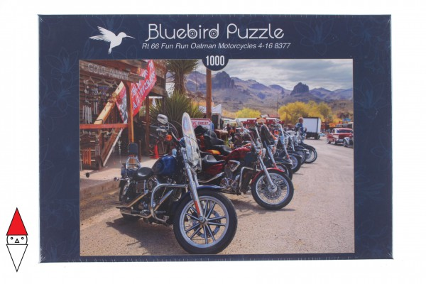 BLUEBIRD, BLUEBIRD-PUZZLE-70067, 3663384700675, PUZZLE MEZZI DI TRASPORTO BLUEBIRD MOTO 1000 PZ