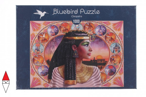 BLUEBIRD, BLUEBIRD-PUZZLE-70129, 3663384701290, PUZZLE TEMATICO BLUEBIRD ANTICO EGITTO CLEOPATRA 1000 PZ