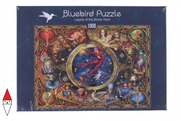 BLUEBIRD, BLUEBIRD-PUZZLE-70021, 3663384700217, PUZZLE GRAFICA BLUEBIRD FANTASY LEGACY OF THE DIVINE TAROT 1000 PZ