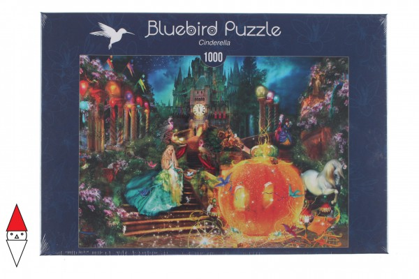 BLUEBIRD, BLUEBIRD-PUZZLE-70197, 3663384701979, PUZZLE TEMATICO BLUEBIRD FIABE E GNOMI CINDERELLA 1000 PZ