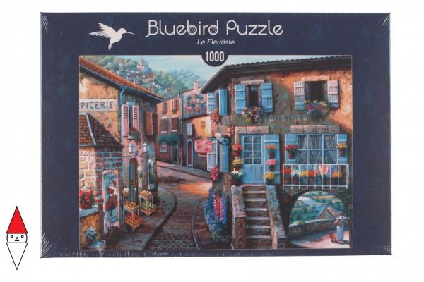 BLUEBIRD, BLUEBIRD-PUZZLE-70125, 3663384701252, PUZZLE PAESAGGI BLUEBIRD VILLAGGI LE FLEURISTE 1000 PZ