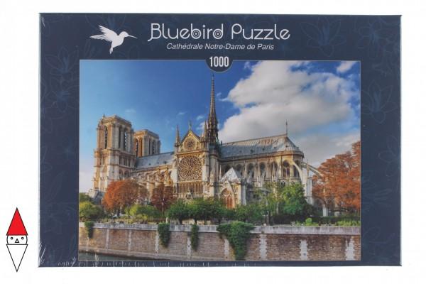 BLUEBIRD, BLUEBIRD-PUZZLE-70224, 3663384702242, PUZZLE EDIFICI BLUEBIRD CHIESE E CATTEDRALI 1000 PZ