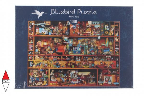 BLUEBIRD, BLUEBIRD-PUZZLE-70215, 3663384702150, PUZZLE OGGETTI BLUEBIRD GIOCATTOLI TOYS TALE 1000 PZ