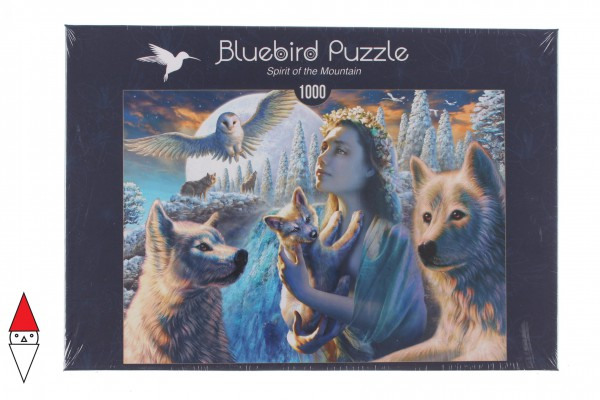BLUEBIRD, BLUEBIRD-PUZZLE-70108, 3663384701085, PUZZLE PAESAGGI BLUEBIRD MONTAGNA SPIRIT OF THE MOUNTAIN 1000 PZ