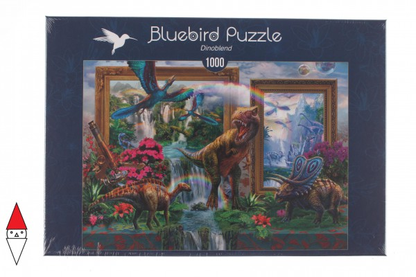 BLUEBIRD, BLUEBIRD-PUZZLE-70139, 3663384701399, PUZZLE ANIMALI BLUEBIRD DINOSAURI DINOBLEND 1000 PZ